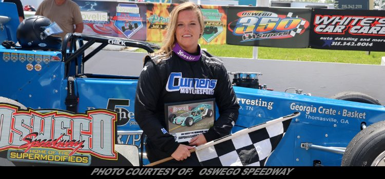 Alison Sload Becomes First Female Supermodified Winner At
