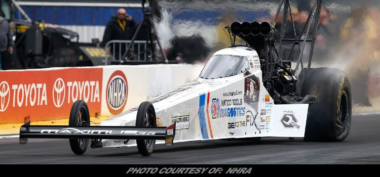 Antron Brown Looks To Finish NHRA Western Swing On Another